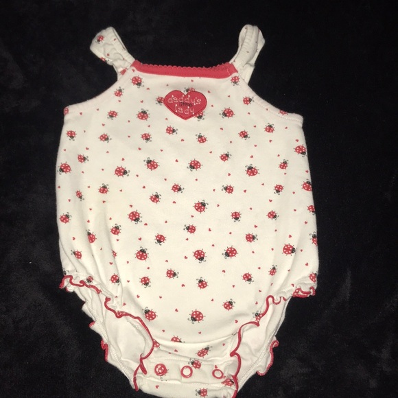 first moments Other - First Moments Baby onsie lady bugs 6 months